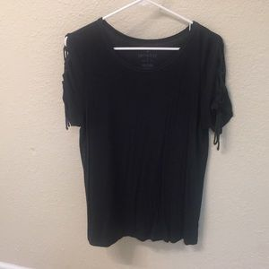 American Eagle Soft and Sexy black top size Large